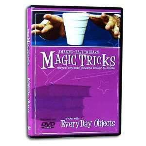 Amazing Easy To Learn Magic Tricks with EveryDay Objects