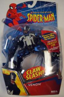 THE SPECTACULAR SPIDER MAN VENOM ACTION FIGURE ANIMATED CARTOON