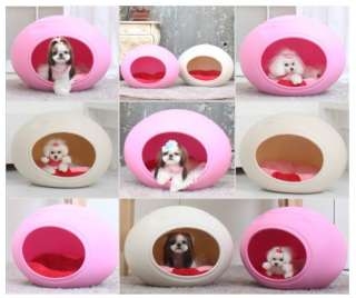 egg shape indoor pet dog cat house interior decoration