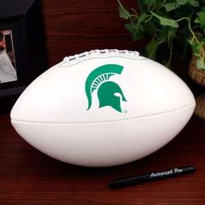 NCAA Michigan State Spartans Official Full Size Autograph Football