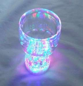 pcs Multi Color Flashing LED Light up Blinking Drinking Glasses