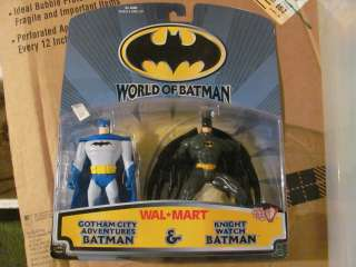 World of Batman  2 pack Gotham City Adventures Knight Watch