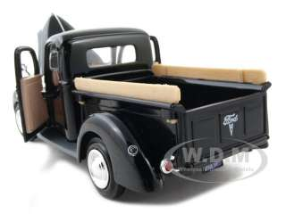 1940 FORD PICKUP TRUCK BLACK 124 DIECAST MODEL CAR