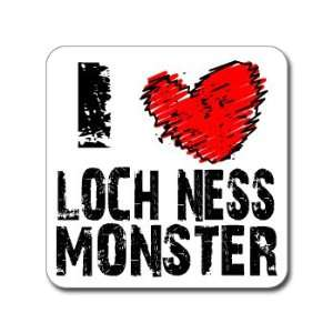I Love Heart LOCH NESS MONSTER   Window Bumper Laptop