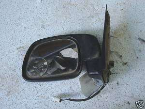 USED 1999 2000 FORD F250 SUPER DUTY DRIVER SIDE MIRROR