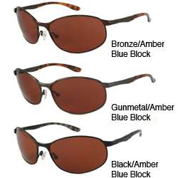 Alta Vision Blue Blocker Flex Mens Unisex Rectangular Sunglasses
