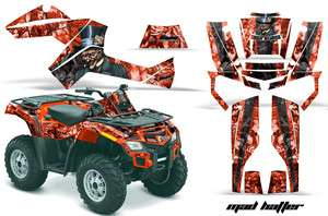 AMR RACING QUAD STICKER DECAL KIT CAN AM OUTLANDER 500 650 800R 1000