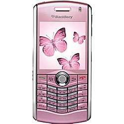 BlackBerry Pearl 8110 Pink Unlocked GSM Cell Phone (Refurbished
