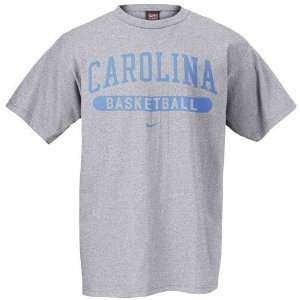 Nike North Carolina Tar Heels (UNC) Ash Basketball T shirt