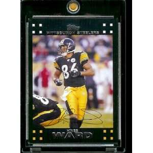 Topps Football # 174 Hines Ward   Pittsburgh Steelers   NFL Trading
