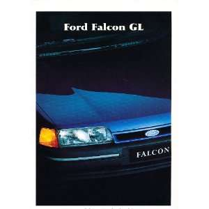 1991 Ford Falcon Australian Original Sales Brochure