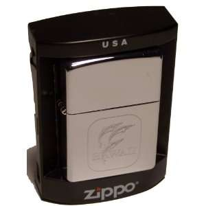 ZIPPO LIGHTER WITH HAWAII DOLPHIN HIGH POLISH CHROME