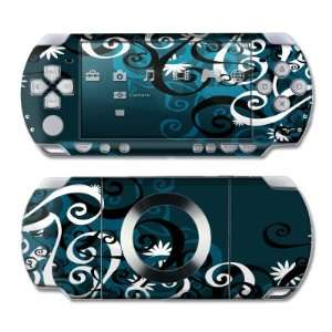 Midnight Garden Design Skin Decal Sticker for the PS3 Slim