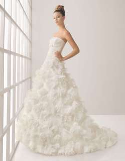 High quality Hand made Wedding Dress bridal Gown New Size Free 2012