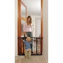 Auto Close Gate with Extensions   Black   Dream Baby   Babies R Us