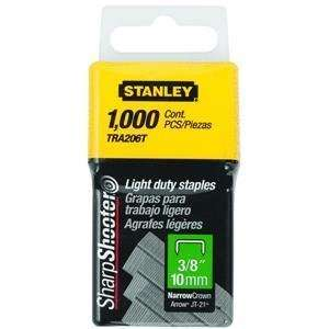TRA206T 1,000 Units 3/8 Inch Light Duty Staples