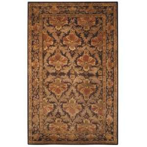 AT54A Antiquities William Morris AT54A Wine / Gold Oriental Rug Baby