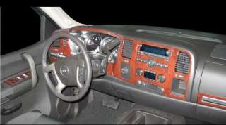 SILVERADO LT LS LTZ INTERIOR WOOD DASH TRIM KIT 2010 2011 2012