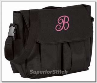 Personalized baby DIAPER BAG embroidered ANY COLOR girl