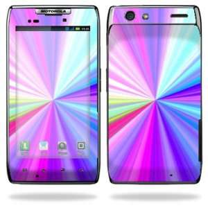 Motorola Droid Razr Maxx Android Smart Cell Phone Skins   Rainbow Zoom