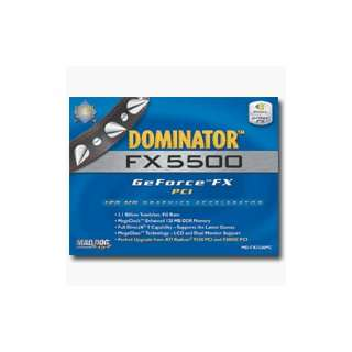 MAD DOG MULTIMEDIA Dominator FX 5500 PCI 128MB Graphics