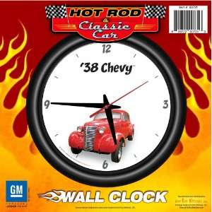 1938 Chevy 12 Wall Clock Red   Chevrolet, Hot Rod, Classic