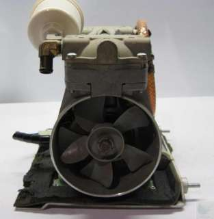 Thomas 2505CE38 45 758A Compressor and Vacuum Pump
