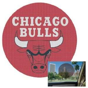 NBA Chicago Bulls Decal   Perforated