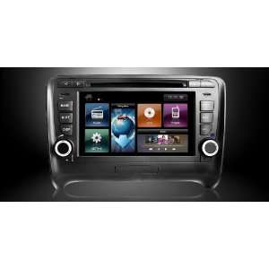 Android In Dash Double Din DVD GPS Navigation Radio