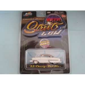 White 53 Chevy Bel Air Street Low Lowrider By Jada  Toys & Games