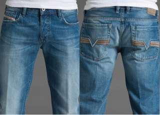 NEW DIESEL Brand Men Jeans Zatiny 8AT Blue Denim 32