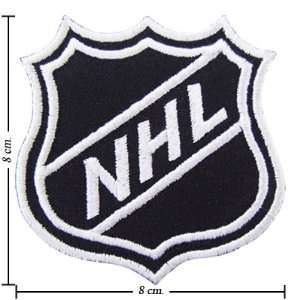 National Hockey League Logo Embroidered Iron on Patches Kid Biker Band