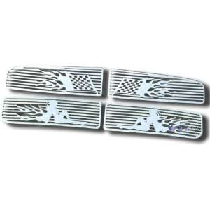 2002 2005 Dodge Ram Symbolic Upper Grille Automotive