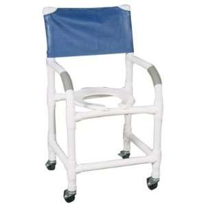 MJM International 118 3 KIT Standard Deluxe Shower Chair with Optional