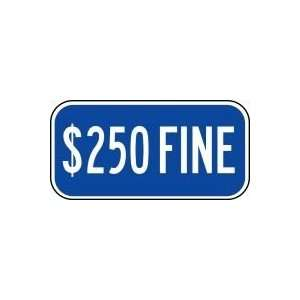 Sign 6 x 12 .080 Reflective Aluminum   ADA Parking Signs Home