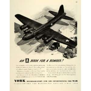 1943 Ad York Corp Refrigeration & Air Conditioning B 17E