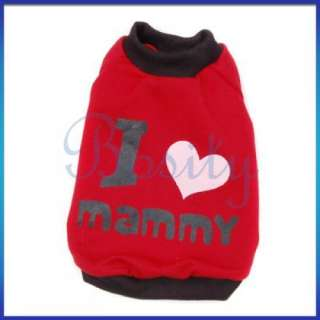 Puppy Pet Dog T Shirt Coat Jacket Sports Jersey Spring Summer Clothes