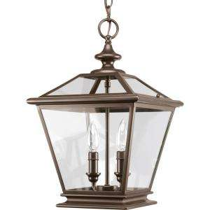 Thomasville Lighting Crestwood Collection Antique Bronze 2 Light Foyer