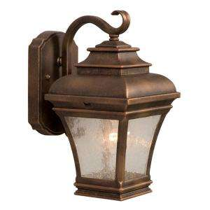 Hampton Bay Wall Mount Outdoor Lantern 002 31110M FC