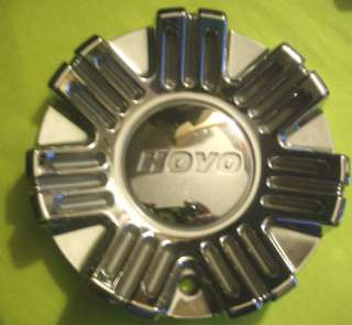 HOYO WHEEL H2 CHROME CUSTOM CENTER CAP (MCD8155YA02) on back of hub
