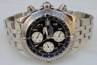 Breitling A13356 Chronomat Evolution S.S Chrono Mens Watch