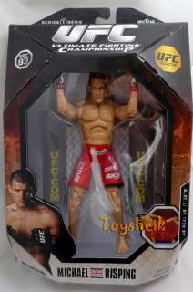 UFC Legends s1 MICHAEL BISPING action figure Jakks
