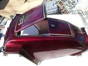 84 HONDA GL 1200 GOLDWING INTERSTATE GAS TANK COVER / FUEL TANK COVER