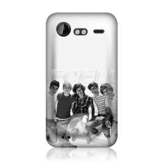 One Direction 1D British Boy Band Snap Back Case for HTC Incredible S