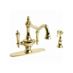 Giagni Isonzo Two Handle Kitchen Faucet with Side Spray
