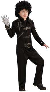 Michael Jackson Bad Buckle Jacket Costume   Michael Jackson Costumes