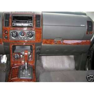NISSAN PATHFINDER 2005 2006 2007 SE LE INTERIOR WOOD DASH