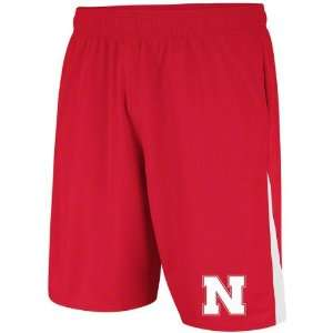 Red adidas 2012 Football Sideline Shorts