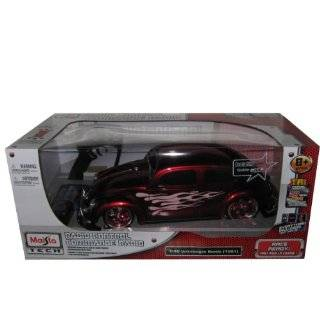 10 REMOTE CONTROL 1951 VOLKSWAGEN BEETLE RED R/C CAR