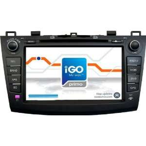 Fuxon for Mazda 3 2010 In Dash Double Din car DVD Player